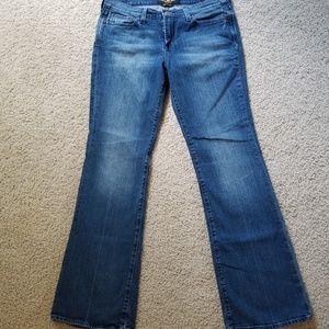Lucky Brand Leslie Sweet N Lo Bootcut Jeans Sz 10